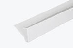 Continuous Dry Verge S Profile White